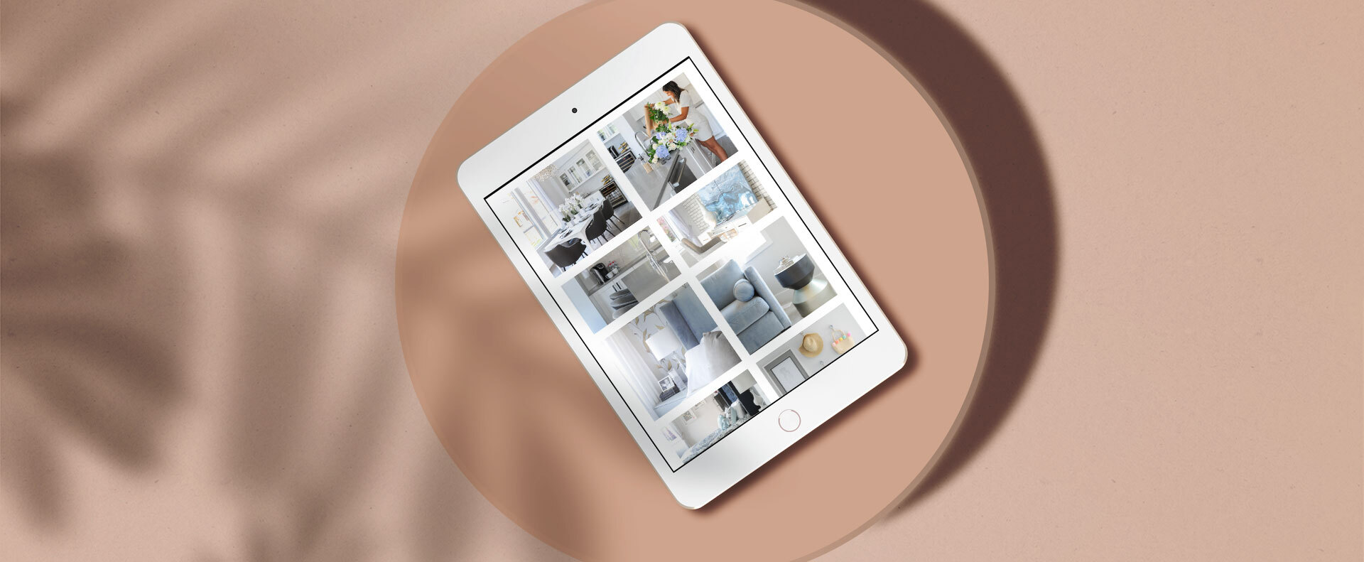 First Impressions website gallery shown on a tablet device - White Canvas Design