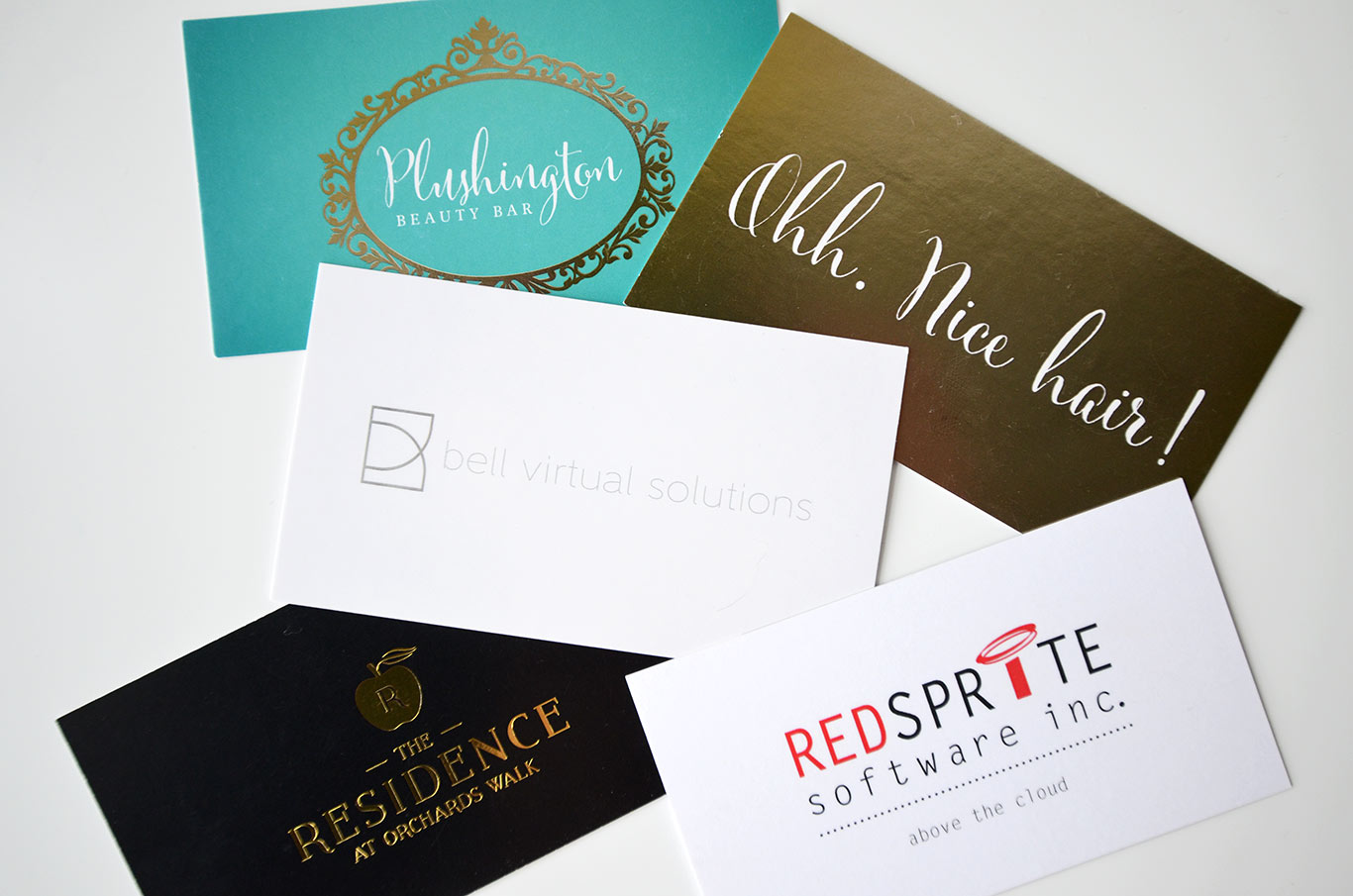 Business cards that dazzle 5 wow factor printing for Special business cards