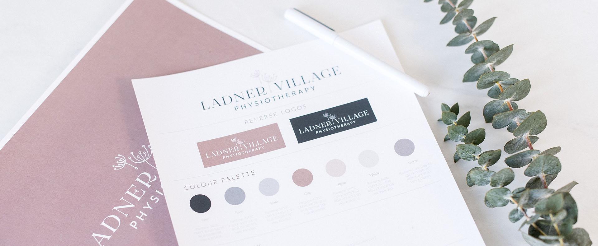 Ladner village brand stylesheet - White Canvas Design