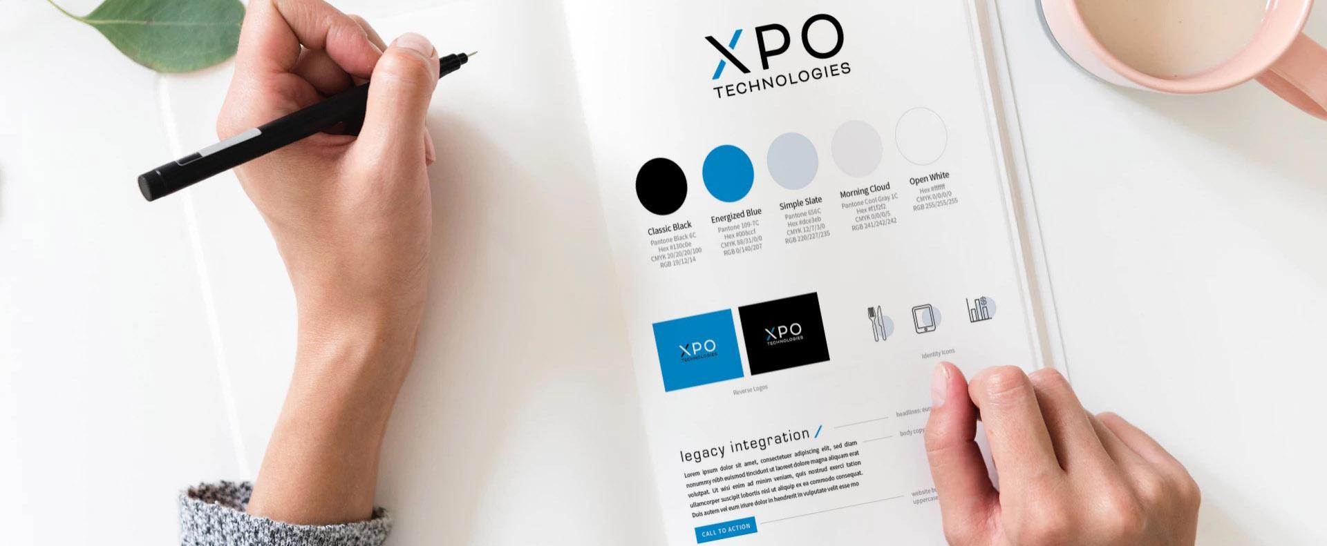 XPO technologies style sheet - White Canvas Design